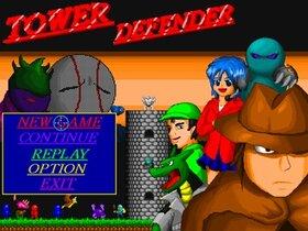 TOWER DEFENDER Game Screen Shot2