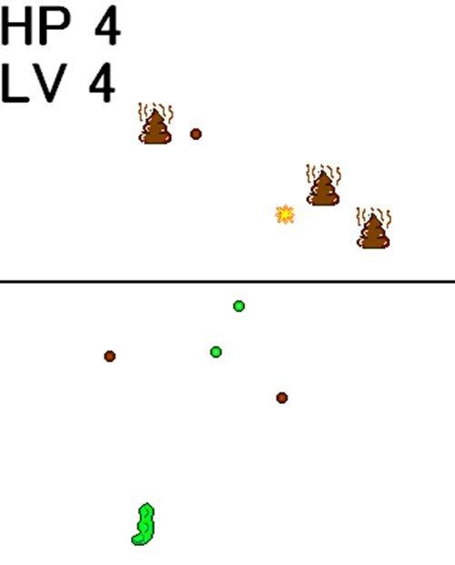こやしカレー Game Screen Shot
