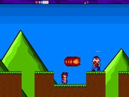怪傑バイオレット Game Screen Shot2