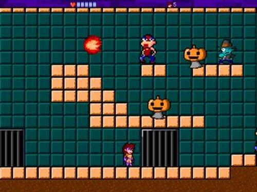 怪傑バイオレット Game Screen Shots