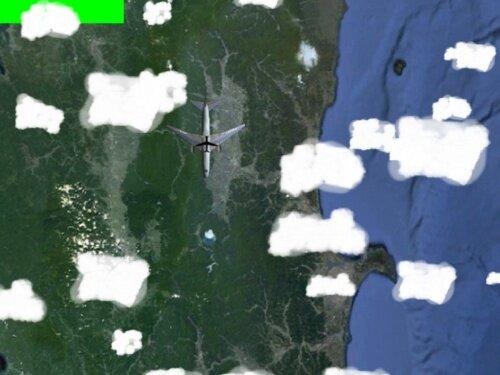 飛行機はどこへ行くのか・・・ Game Screen Shot1