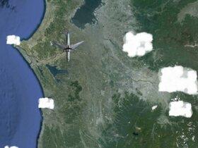 飛行機はどこへ行くのか・・・ Game Screen Shot4