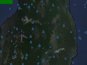 飛行機はどこへ行くのか・・・ Game Screen Shot5