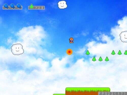 トラネコスカイヤー Game Screen Shot