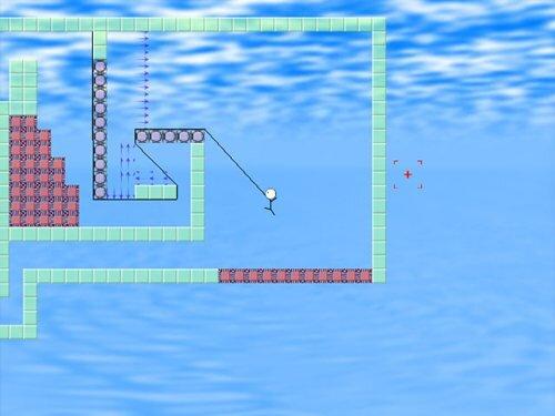 伸びる棒 Game Screen Shot1
