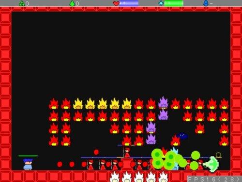 ヤシーユと鬼畜世界 堅 Game Screen Shot1