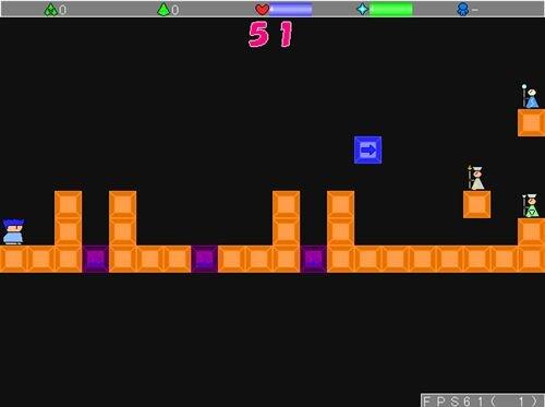 Aクションゲーム Game Screen Shot1