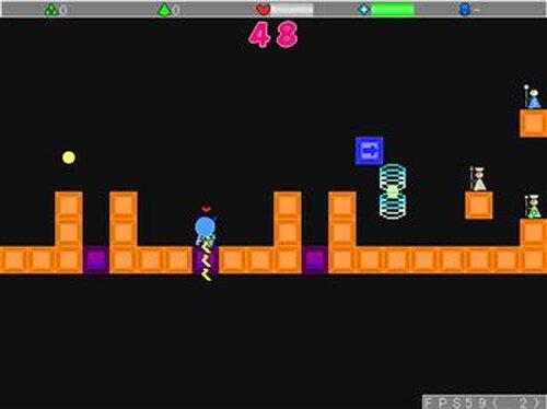 Aクションゲーム Game Screen Shot3