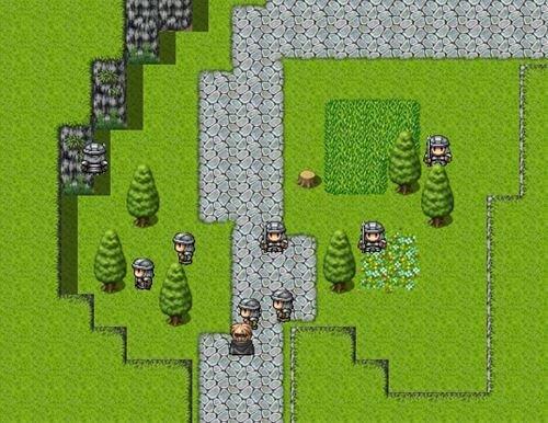 鉄壁の騎士の物語 Game Screen Shot1