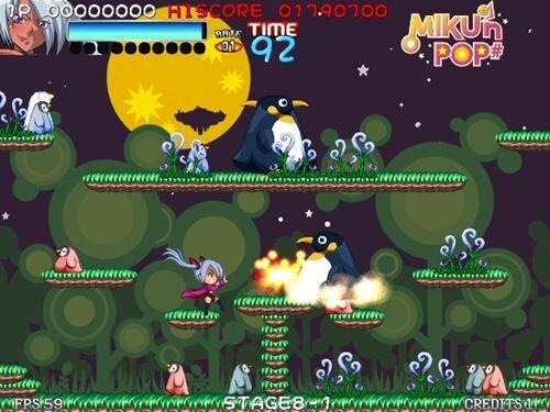 MIKU'n POP#(みっくんぽっぷ しゃーぷ) Game Screen Shot1
