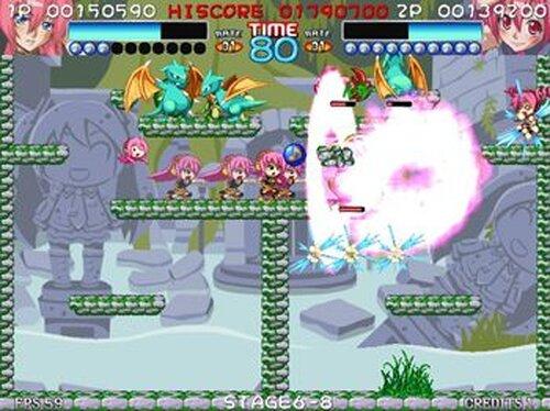 MIKU'n POP#(みっくんぽっぷ しゃーぷ) Game Screen Shots