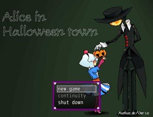 アリスインハロウィンタウン Game Screen Shots