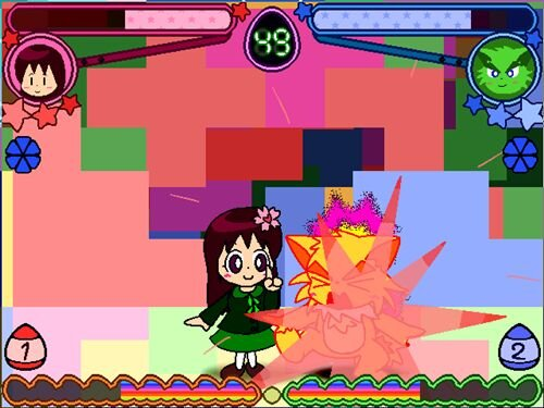 Super!!キャラクターFight!! こんふゅーじょん Game Screen Shot
