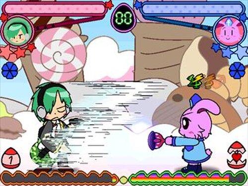 Super!!キャラクターFight!! こんふゅーじょん Game Screen Shots