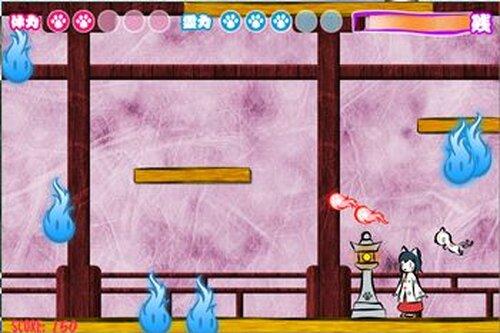 ネコ巫女ACT Game Screen Shot3