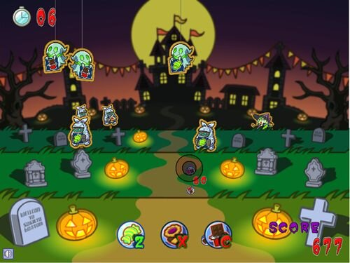 HALLOWEEN TARGET Game Screen Shot1