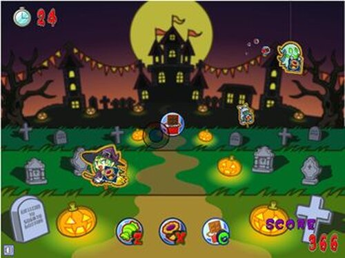 HALLOWEEN TARGET Game Screen Shot3