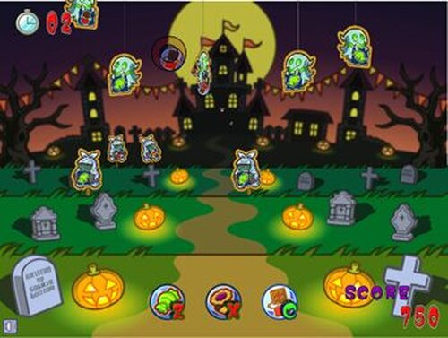 HALLOWEEN TARGET Game Screen Shots