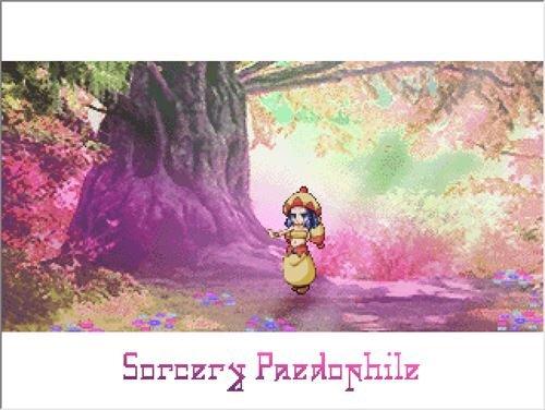 ソーサリーペドファイル Game Screen Shot1
