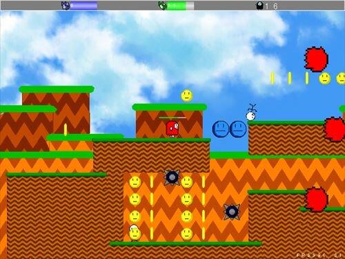 ムームーのアクション Game Screen Shot1