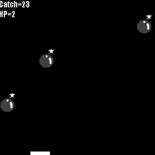 爆弾キャッチ! Game Screen Shot3