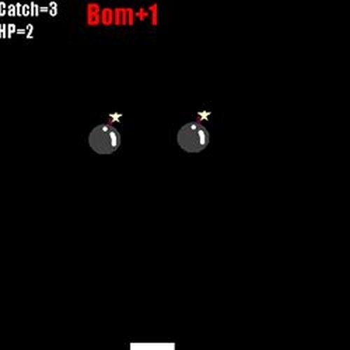 爆弾キャッチ! Game Screen Shots