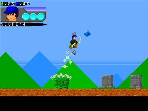 ブライアンの冒険 ~虚像の城~ Game Screen Shot1