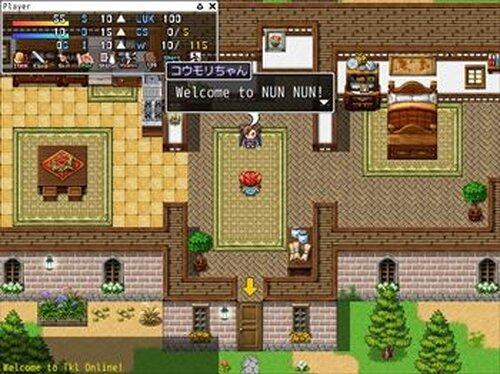 """Tkl Online"" Demo version Game Screen Shot2"