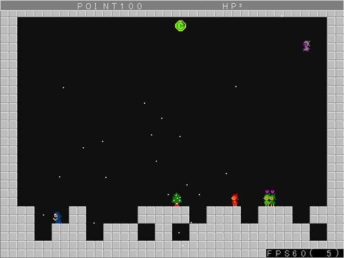 霊クリ Game Screen Shot