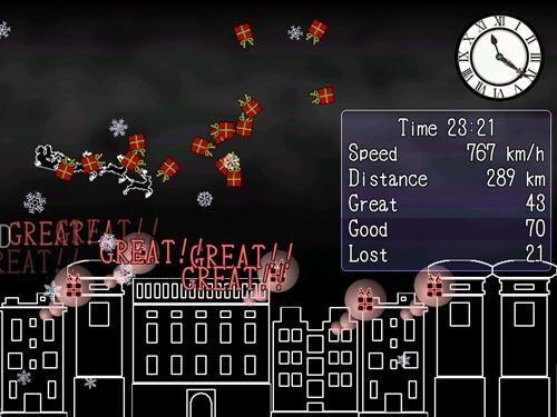 Sonic the Santa Claus Game Screen Shot1