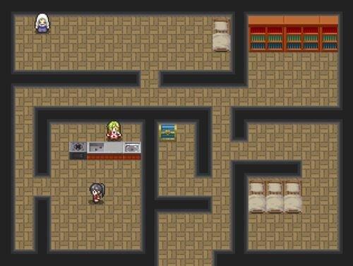カリーナの魔王制覇伝 Game Screen Shot1
