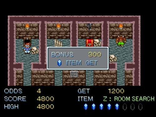 インフィニティラビリンス Game Screen Shot1
