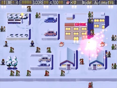 SANTAHAZARD Game Screen Shot1