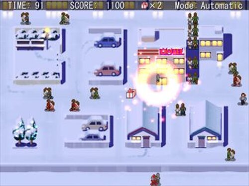 SANTAHAZARD Game Screen Shots