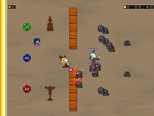ソイルストライク Game Screen Shot1
