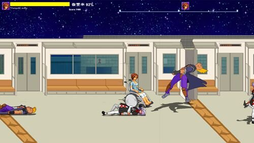 テスト用のミニゲーム  Game Screen Shot1