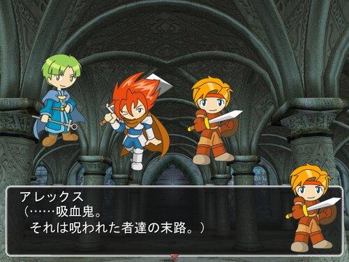 Vampire Castle Game Screen Shot