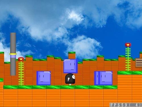 ムームーのアクション2 Game Screen Shot