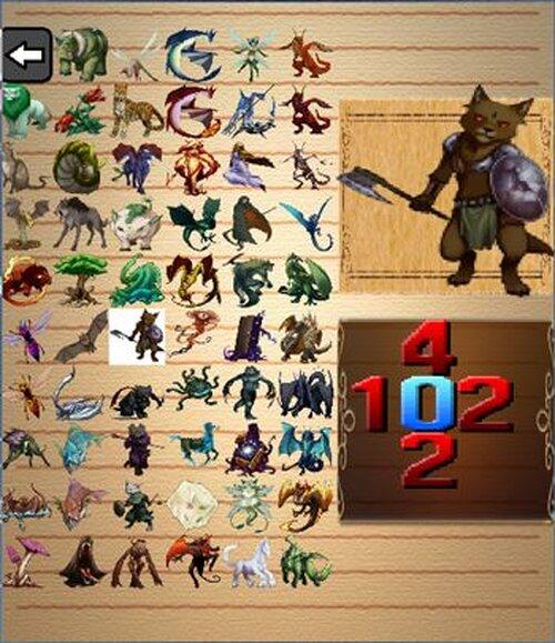 トリプルトライアド(カードゲーム)Ver1.00 Game Screen Shot4