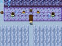 幻想の城のゲーム画面