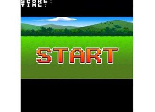 40秒間スライムから少女を守るゲーム Game Screen Shot2
