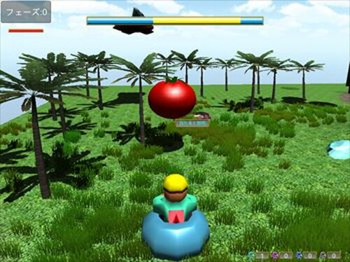 ザ・トマト3D Game Screen Shot3