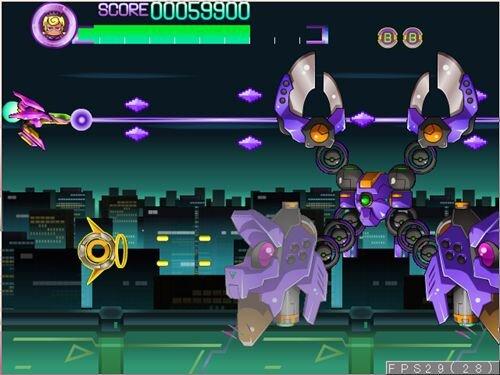 インビンシブルエスコーター Game Screen Shot