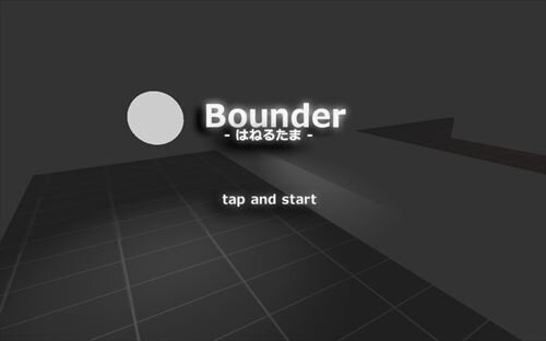 Bounder Game Screen Shot