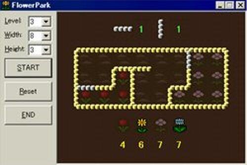 FlowerPark Game Screen Shots