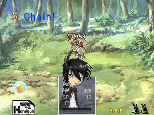 人形戦記 お試し版 Game Screen Shot4