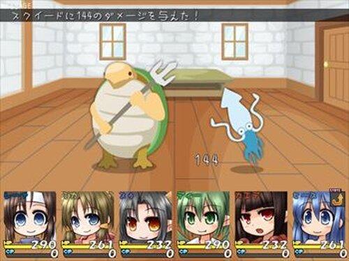 ばにてぃくらうん Game Screen Shots