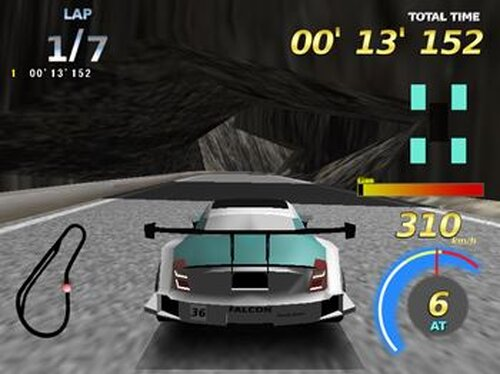 RAISING SPEED GT Game Screen Shot4