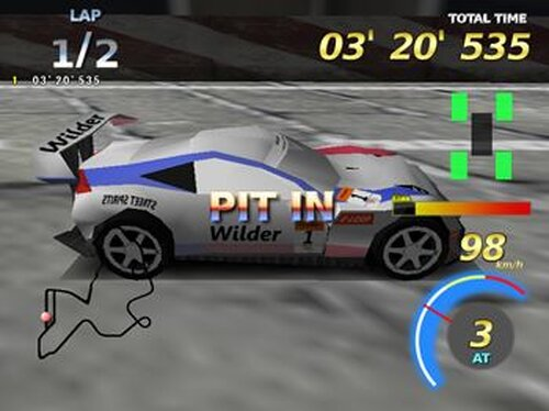 RAISING SPEED GT Game Screen Shot5