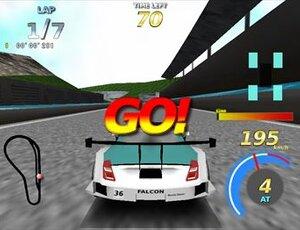 RAISING SPEED GT Game Screen Shot